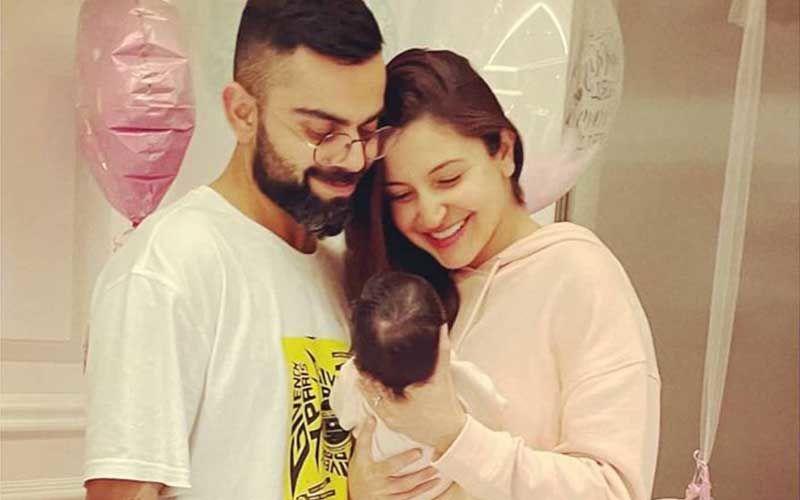 Anushka Sharma-Virat Kohli's Baby Girl Receives A Special Gift; Vamika Gets Cute Customized Nameplate On Room Door