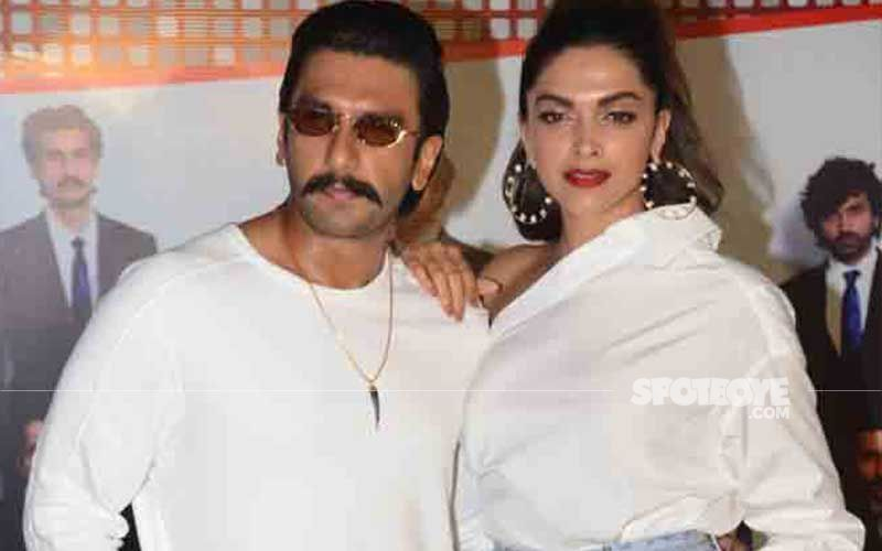 Couple Spotting: Ranveer Singh Gets Clicked Outside A Dubbing Studio In The City; Deepika Padukone Papped In Bandra-Video
