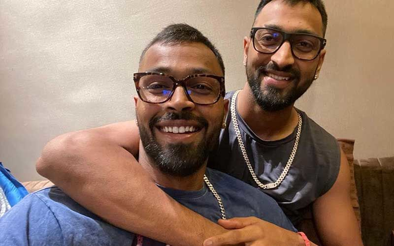 Krunal Pandya Breaks Down In Tears After Post His Quick Half-Century; Hardik Pandya Consoles His ODI Debutant Big Brother With A Warm Embrace-WATCH Emotional Video