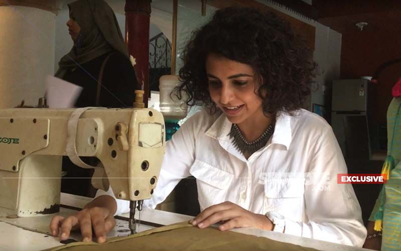Manasi Rachh Tries Her Hand At Sewing For Her Web Series Hindmata- EXCLUSIVE VIDEO