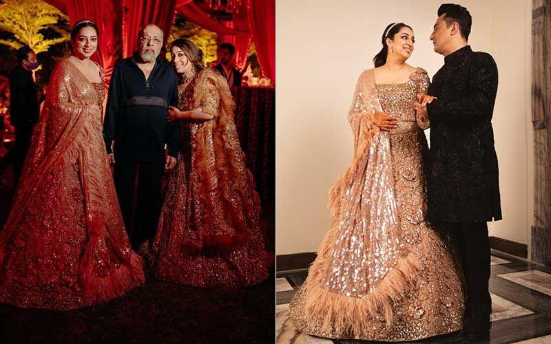 JP Dutta's Daughter Nidhi Dutta And Filmmaker Binoy Gandhi's Sangeet Ceremony: Bride-Groom Look Elegant And Classy; B-Town Celebs Attend The Celebrations