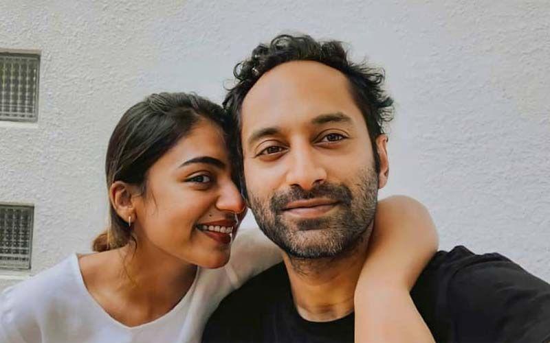 Fahadh Faasil And Wife Nazriya In Hyderabad To Shoot Their Telugu Debut
