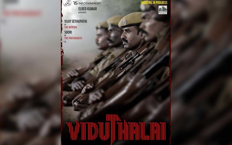 Viduthalai: Vijay Sethupathi's Menacing First Look Poster From Viduthalai Directed By National Award-Winning Filmmaker Vetri Maaran Is OUT