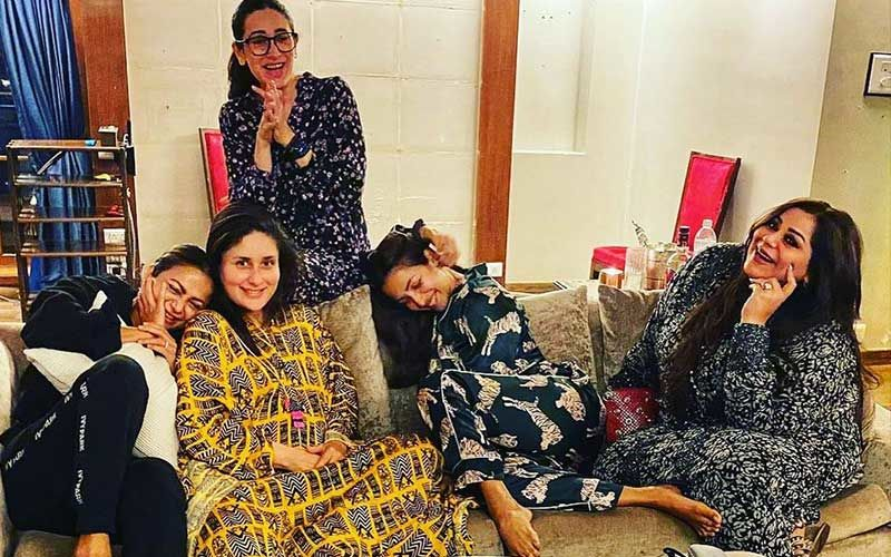 Kareena Kapoor Khan Reminisces 'Good Times'; Shares Throwback Pick Featuring Saif Ali Khan, Asks 'Cocktails With The Gang When?'