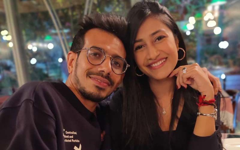 Yuzvendra Chahal And Wife Dhanashree Are A SOLID Team As They Show Off Their Jumping Skills In This Fun Video  - WATCH