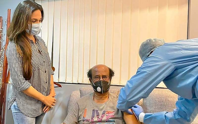 Superstar Rajinikanth Takes His Second Dose Of Vaccine, Daughter Soundarya Shares The Picture Of Thalaiva