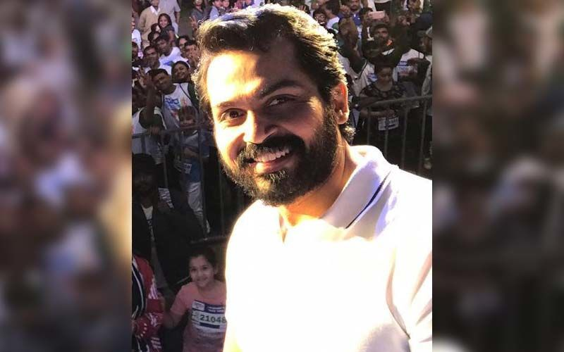 Mask Is The Best Line Of Defense' Says Actor Karthi While Raising Awareness About Covid-19 Appropriate Behaviour