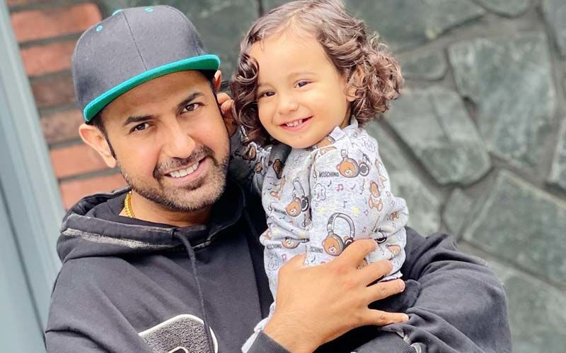 Gippy Grewal And His Youngest Son Gurbaaz Make The Best Father-Son Duo; Singer Shares Pic On Insta