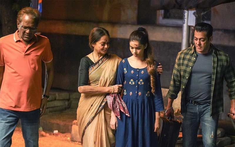 Salman Khan's On-Screen Sister Nancy Jain Shares Deleted Scenes From The Film Radhe Your Most Wanted Bhai; Gives Sneak-Peek