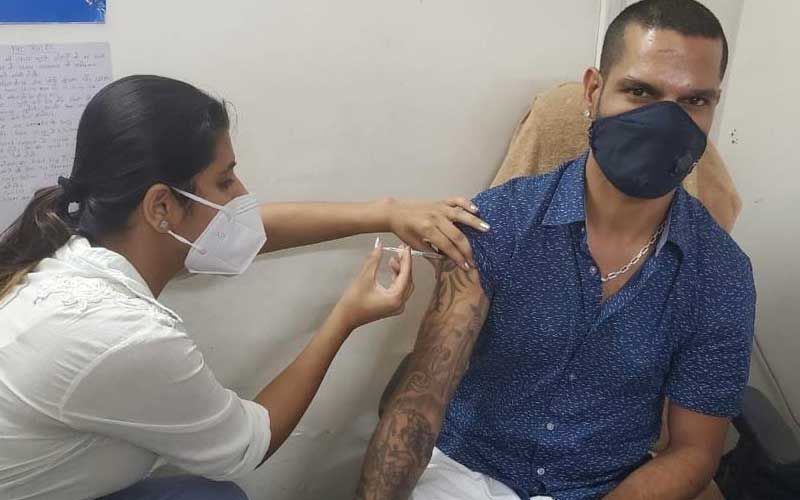 Post Cancellation Of IPL, Shikhar Dhawan Receives The COVID-19 Vaccine Jab; Tweets 'Please Do Not Hesitate And Get Yourself Vaccinated As Soon As Possible'