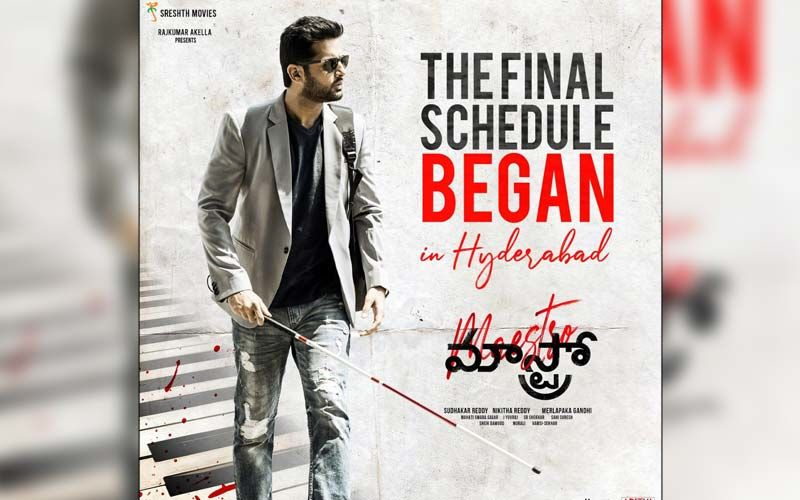 Maestro: Nithiin Beings Shooting The Final Schedule Of The Film From Today