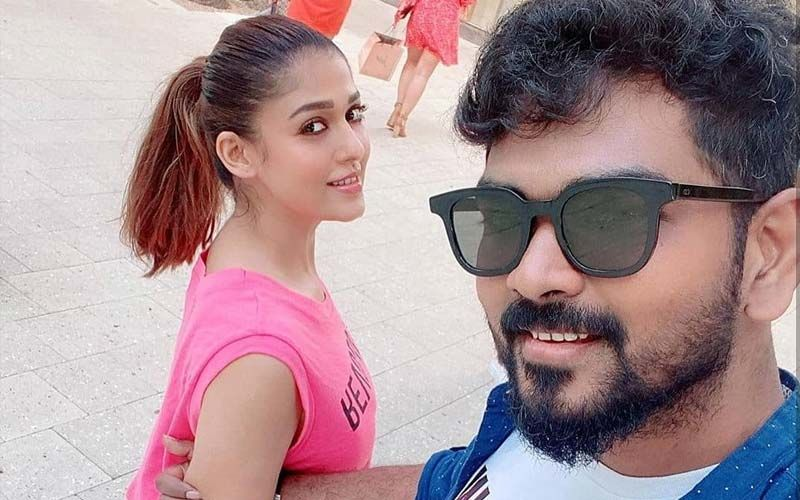 Nayanthara And Vignesh Shivan Land In Cochin In Their Private Jet