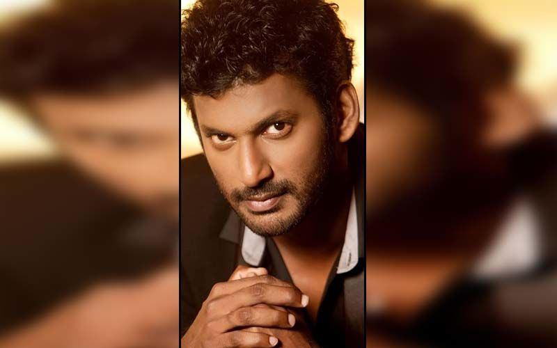 Vishal Reddy Gives Fans A Sneak Peek Into The Action From The Sets Of Vishal 31