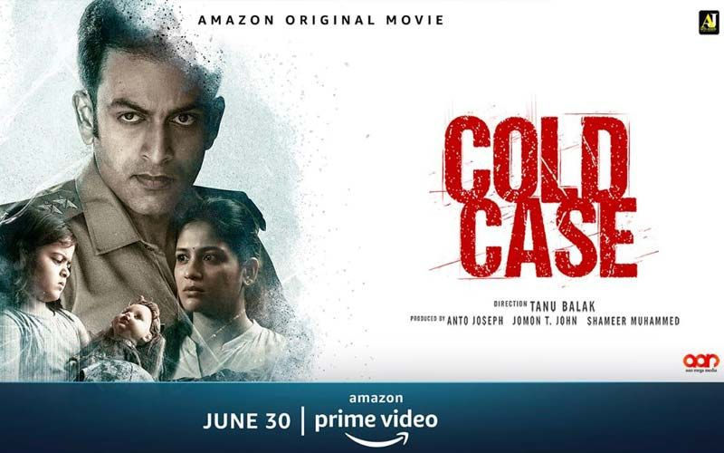 Cold Case Trailer OUT: Prithiviraj Sukumaran's Next hints at a blend of Supernatural And Horror Crime Drama Genre, To Release 30th June 2021