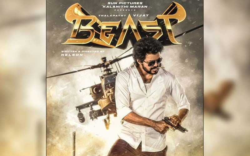Beast Official Poster Reveal: Kollywood Celebs React On The Bold Swagger Of  Thalapathy Vijay's First Look
