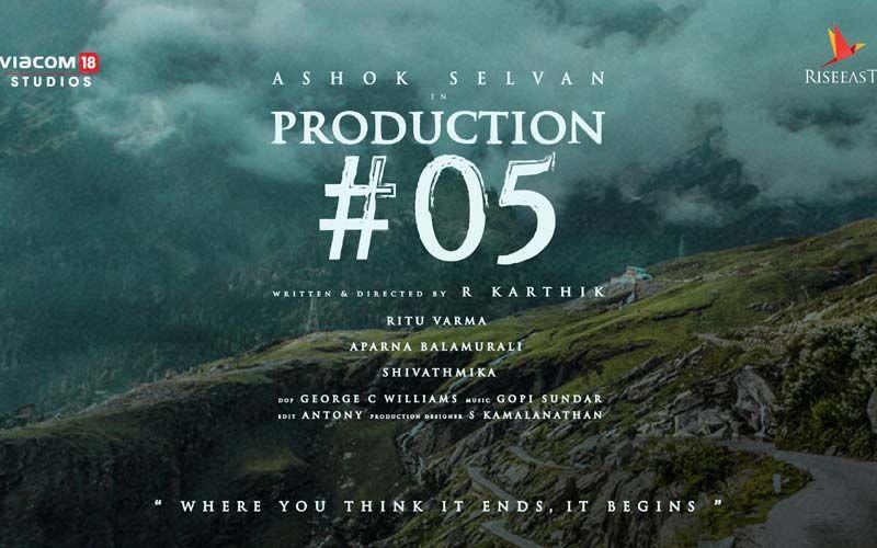 Ashok Selvan Announces A New Passion Production; An Emotional Tale About Life