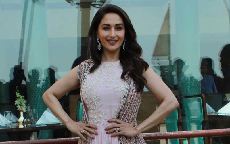 4 Times Madhuri Dixit Proved She Is The Queen Of Romantic Lehengas