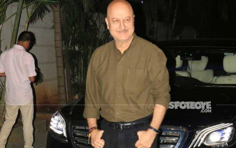 Anupam Kher Completes 40 Years In The City Of Dreams; Actor Visits His First Mumbai Home, Says 'This City Has Been Extremely Kind To Me'