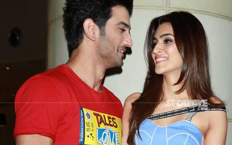 Kriti Sanon Remembers Sushant Singh Rajput Ahead Of His First Death Anniversary; Actress Shares Emotional BTS Video: 'My Raabta With Sushant'