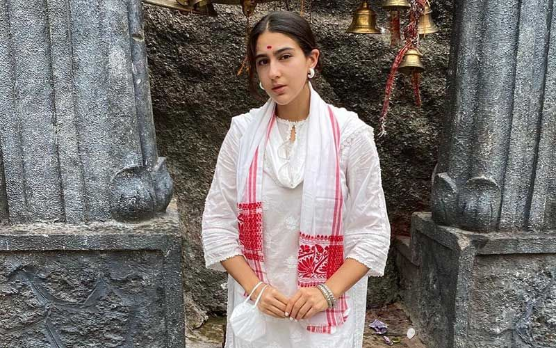 Sara Ali Khan Visits A Temple In Guwahati; Actress Shares Beautiful Pictures From Assam Trip