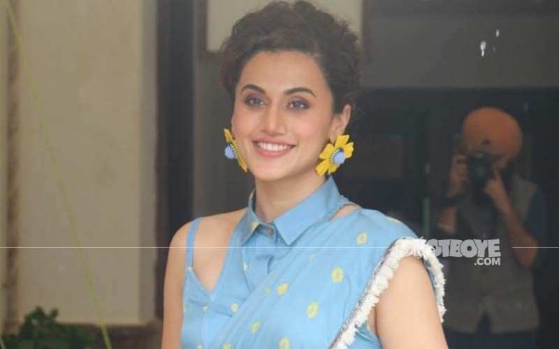 Taapsee Pannu Launches Her Production House 'Outsiders Films'; Aims To Empower Talent That Comes 'With No Background'