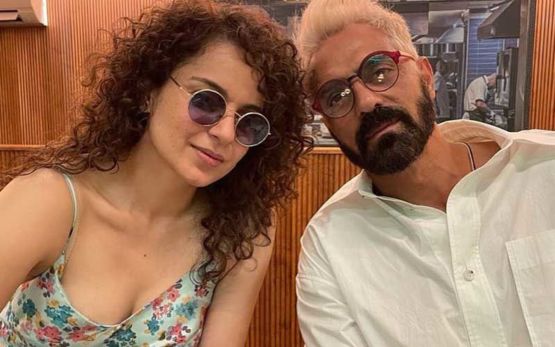 Dhaakad: Arjun Rampal Wraps Up The Shoot Schedule For Kangana Ranaut Starrer; Says 'Sorry' As He Had To Crop BTS Pic With The Actress