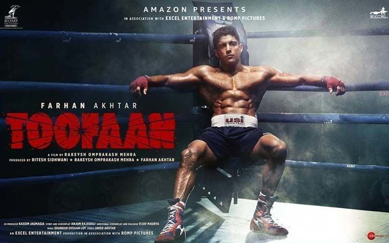 Farhan Akhtar's Transformation For His Recently Premiered Movie Toofan Was No Less Than A Storm; Watch Video Here