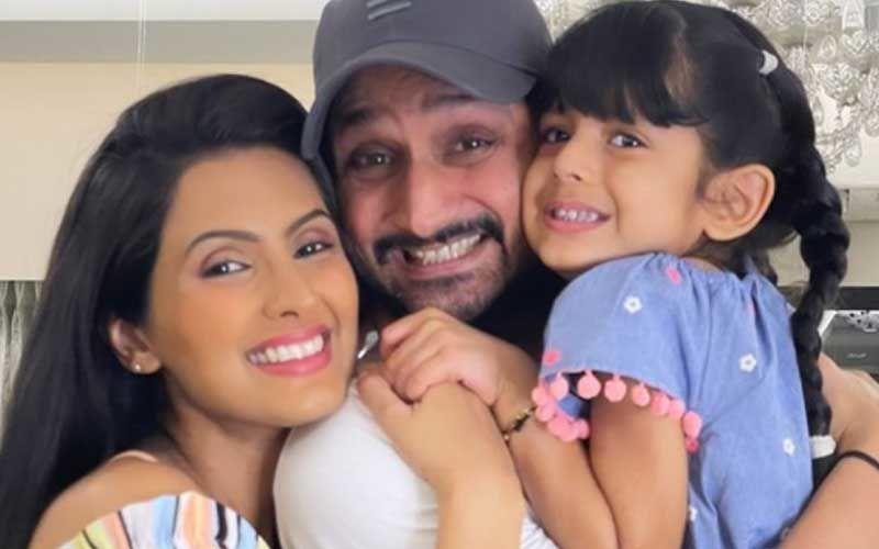 Geeta Basra And Harbhajan Singh Introduce Newborn Son 'Jovan Veer Singh Plaha' To Everyone; Shares An Adorable Pic Of The Little One With His Sister Hinaya Heer