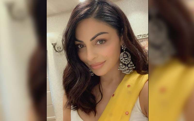 Neeru Bajwa Takes Over The Floral Fashion In Her Latest Pictures On Instagram; Don't Miss