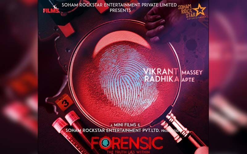 Forensic First Look Poster: Vikrant Massey And Radhika Apte Come On Board To Take You On A Thrill Ride