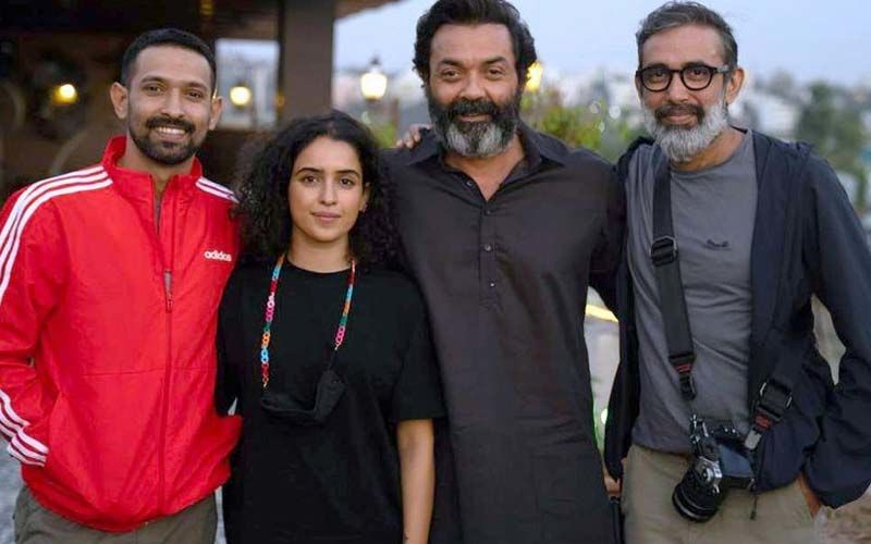 Love Hostel: Bobby Deol, Sanya Malhotra, And Vikrant Massey Wrap Up The Shooting Of The Crime Thriller; Sanya Drops A Cool Pic