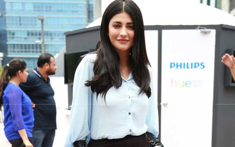 Shruti Hassan's 101 On Black Street Style Look Is The Fashion Statement Of The Day