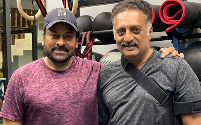 Prakash Raj Meets Chiranjeevi In The Gym, Actor Calls Him 'Ever Inspiring ANNAYA'