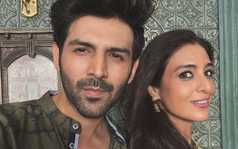 Kartik Aaryan Resumes Shooting For Bhool Bhulaiya 2; Also, Check Out His Adorable Picture With Tabu
