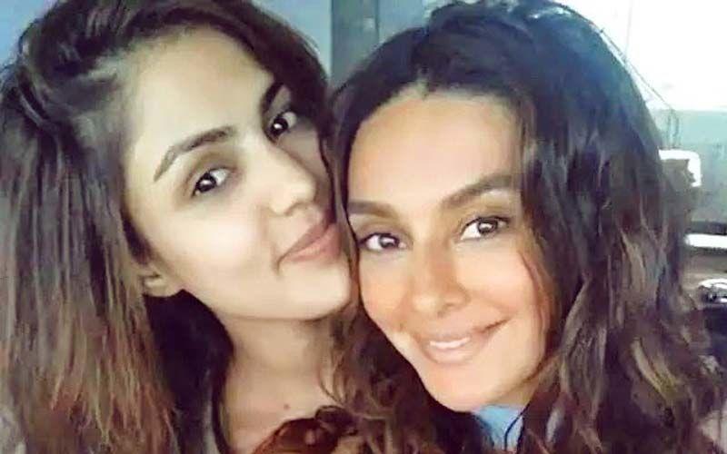 Rhea Chakraborty Wishes Shibani Dandekar On Her Birthday; Says She Wants To Be Like Her