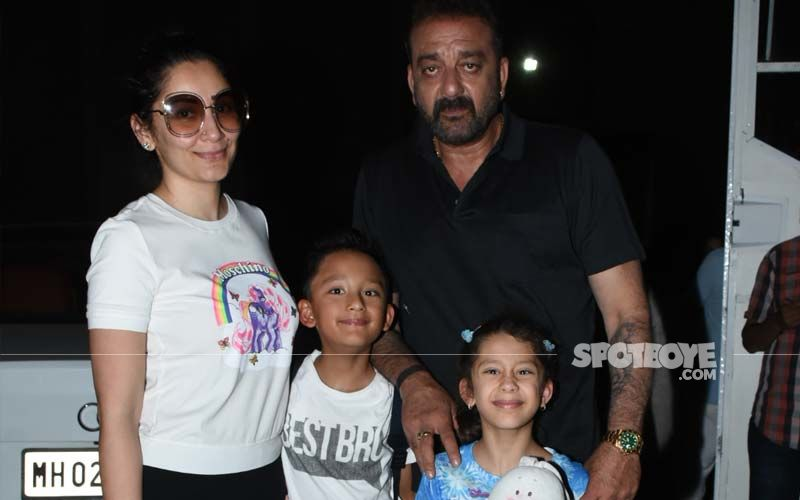 Ganesh Chaturthi: Sanjay Dutt And Family Performs Aarti, Wife Maanayata Shares A Video On Social Media