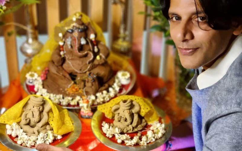 Ganesh Chaturthi 2021: 'Celebrate With Ganpati Bappa At Home This Year,' Karenvir Bohra Advises The Idol-Rich Devotees