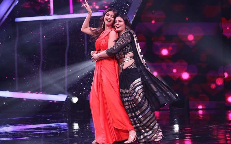 Super Dancer Chapter 4: Shilpa Shetty Kundra And Raveena Tandon Performing Chura Ke Dil Mera Hook Step Is A Treat To Watch