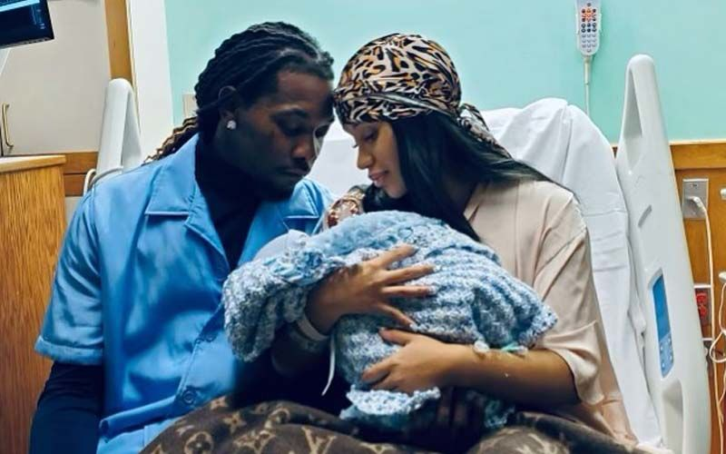 It's A Baby Boy! Cardi B And Husband Offset Announce The Birth Of Their Second Child; The American Rapper Shares PICTURES From The Hospital Room