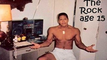 Dwayne Johnson AKA WWE Star The Rock Shares His 15-Year-Old #FlashbackFriday Picture Reminiscing His Punk Side