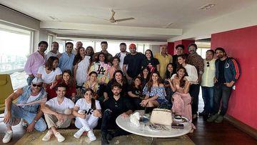 Karan Johar Shares A Group Picture With Hrithik Roshan, Malaika Arora, Kriti Sanon From Farah Khan's House Party