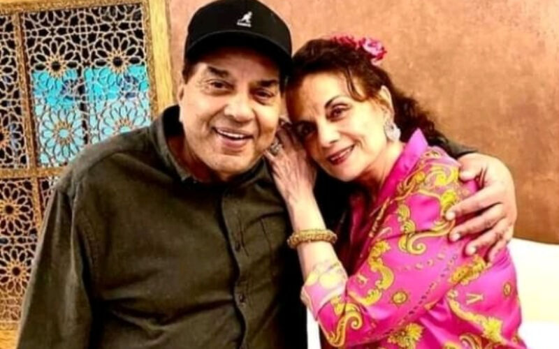 Dharmendra On Meeting Mumtaz After A Long Time: 'It's Always A Pleasure To Meet Good Friends'