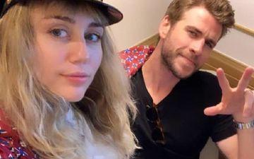 Miley Cyrus Unaffected By Lindsay Lohan's Flirty Comment On Ex-Husband Liam Hemsworth's Pic