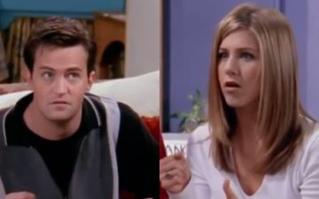 Rachel Jennifer Aniston Welcomes Chandler Matthew Perry On Instagram; We Are 'TRANSPONSTED' Back To FRIENDS