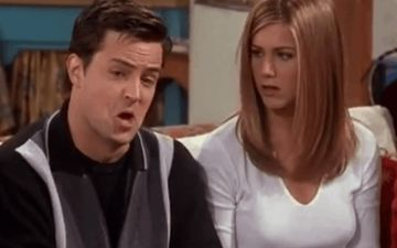 Chandler Matthew Perry Copies Rachel Jennifer Aniston, Makes His First Insta Post Dedicated To FRIENDS