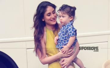 Pics: Taimur Ali Khan Joins His Star Mommy Kareena Kapoor At Mehboob Studio