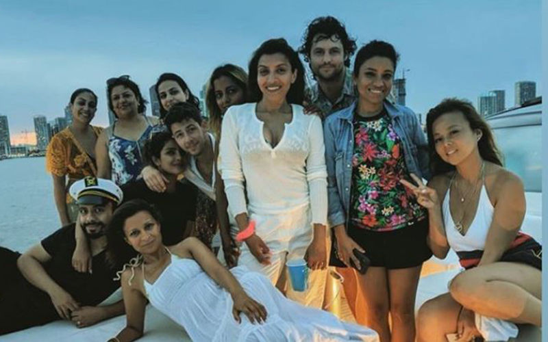 Priyanka Chopra Rings In Her Birthday On A Yacht In Miami- SEE PICS