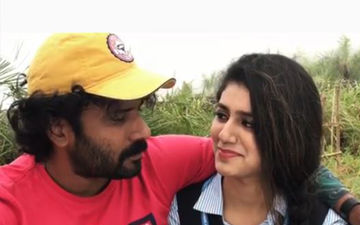 Wink Girl Priya Prakash Varrier And Cinematographer Sinu Siddharth Are About To Kiss Each Other; But Wait Till You See The End
