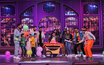 Harsh Limbachiyaa Throws A Surprise Birthday Party For Bharti Singh On The Sets Of Khatra Khatra Khatra