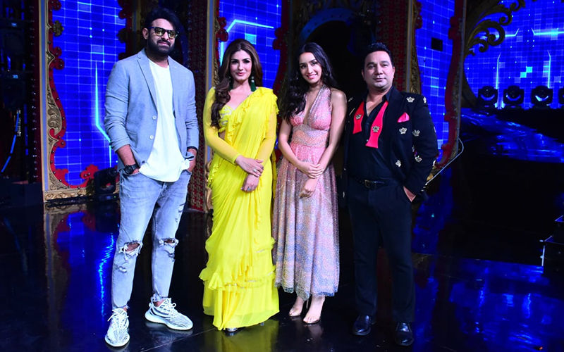 Nach Baliye 9: Prabhas And Shraddha Kapoor Have A Gala Time With Raveena Tandon As They Promote Saaho